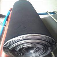 深圳厂家直销 黑色绒布10MM复合海绵 可撕粘贴型眼镜海绵复