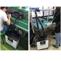 厂家直销激光焊接烟雾过滤器 双工位带数显焊锡烟雾净化器