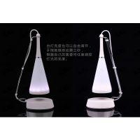 中山吊灯音响、触控调节LED可充电节能台式吊灯音箱、加印logo