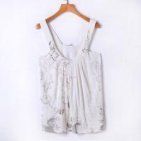 夏季新款日式女装修身莫代尔吊带小背心显瘦打底衫 原单尾货批发