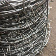 刺绳护栏网 冷镀锌刺线 铁刺线