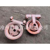 供应DN1021铸铁链轮阀门传动装置,佰誉制造