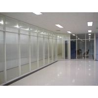 柳州办公双玻百叶隔断 做工精致 玻璃屏风 南宁兆拓隔间
