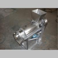 浆渣自动分离的螺旋榨汁机 新型饮品设备 信达制造