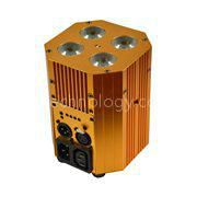 4X4W 4IN1 Battery Powered & IR Remote LED Stage Light