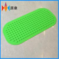 源康生产无味硅胶浴室防滑垫 食品级硅胶浴缸淋浴防滑地垫