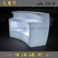 LED发光ktv吧台桌子 发光收银柜台 奶茶店吧台 深圳厂家出租家具