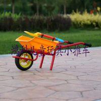 儿童沙滩大号玩具推沙小推车沙滩独轮手推车带铲子厂家直销
