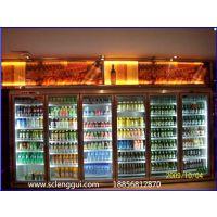 自助餐|火锅店|烧烤店|自助烤肉店保鲜冷柜,鄂州1.2米双门饮料柜价格