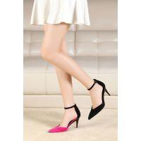 新款高跟凉鞋适合任何场合舒适穿着的高跟鞋折叠高跟女鞋