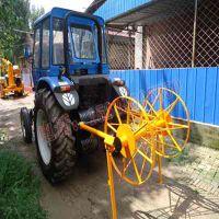 得力时风拖拉机收放线机 四驱拖拉机绞磨机 2驱拖拉机牵引机