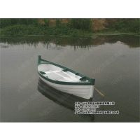 殿宝木船 欧洲欧式船 皮划艇 水上手划船 景区漂流木船 公园情侣手划船生产厂家