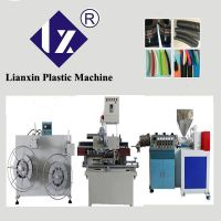 供应塑料波纹穿线软管成型设备