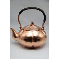 原版映日荷铜壶 纯手工铜壶 三江殿自主设计产品 茶壶茶具