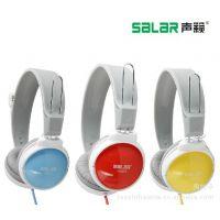 Salar/声籁 A583头戴式电脑游戏耳机 重低音语音通话耳机 麦克风