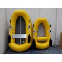 小型充气钓鱼船1-2人携带方便轻巧耐用质优价廉
