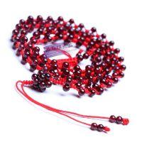 水晶天然 石榴石腰链 本命年红绳腰链 美容养颜 手工编织饰品