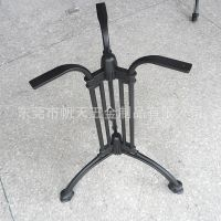 厂家直销户外休闲餐厅桌子铸铝三脚桌脚架欧式风格防锈轻巧耐用