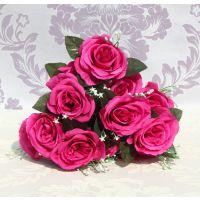 欧式高等装饰花 仿真花 玫瑰花 家居婚庆用品