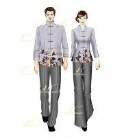 酒店制服定制-厨师服订做-酒店服保安服保洁服围裙