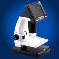 厂家直销1200倍3.5寸便携式台式电子显微镜数码放大镜带测量软件