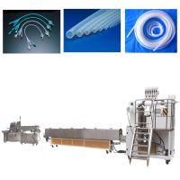 医用/医疗/制药/食品级硅胶管 医疗硅胶挤出机 硅胶挤出生产线