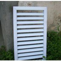 供应瑞榈1600*1000MM铝百叶窗直销、可订空调百叶窗