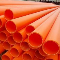 mpp高压电力管厂家 mpp橘红色高压电力管河北厂家