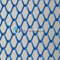 高档铝镁合金咖啡色金属隔断 金属网帘 金属装饰网