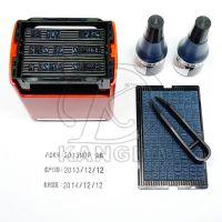 合格证标签打码机打生产日期格美诺三排手动打码机5mm字高