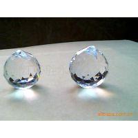 供应水晶玻璃灯饰球 装修灯饰 水晶工艺品 水晶吊灯挂件配件