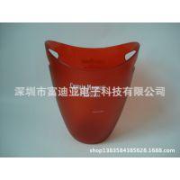 深圳塑料冰桶 透明磨砂冰桶 亚克力红酒冰桶 酒吧KTV冰桶批发
