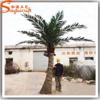 广州松涛工艺 椰子树 玻璃钢海南椰子树仿真树厂家 仿真植物