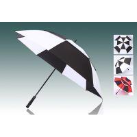 YL【雅乐制伞】8骨超大双层高尔夫直杆伞 全纤维手开伞骨双层碰击布面料