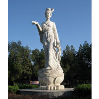 原著雕塑厂家新品 树脂玻璃钢雕塑 嫦娥摆件工艺品 神仙人物雕像