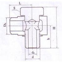 焊接式管接头、接头、天诚电气