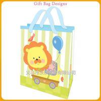 大号手提纸袋卡通礼品袋 高档童装包装袋可爱纸袋定做批发