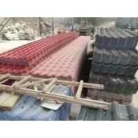 厂家供应批发树脂PVC瓦片 合成屋顶塑料瓦 波浪瓦PVC瓦