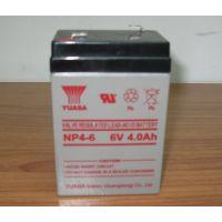 大量现货供应YUASA汤浅系列蓄电池 电梯设备 仪器仪表专用NP4-6 6V4AH