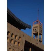 设计定做工艺型铁艺建筑钟表 建筑挂钟(kts-15型)