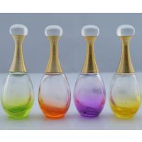 玻璃香水瓶 高白料香水瓶 香水瓶厂家 化妆品玻璃瓶厂 喷色香水瓶