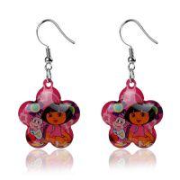 外贸 好品质 朵拉 dora 儿童耳环 儿童饰品 ebay 速卖通热销