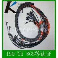 拖链电缆组件、机器人拖链电缆组件、坦克链电缆组件