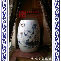 景德镇陶瓷能量养生樽,排毒养颜排毒缸