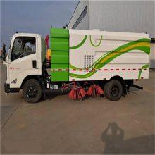 云南扫路车厂家 小型扫路车供应商 湖北东风多利卡扫路车改装厂