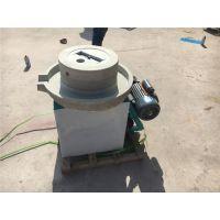信达加工定制小型电动豆浆石磨 花生酱专用电动石磨