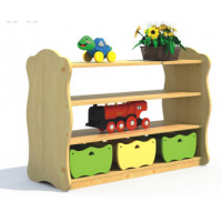 供应邛崃幼儿园家具玩具柜量大从优