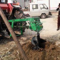 供应宏燊HS-50拖拉机植树挖坑机高效