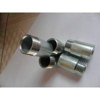 供应鑫润五金碳钢热镀锌低压螺纹,对焊单,双头丝