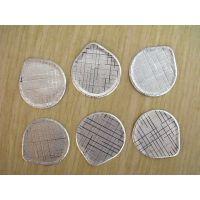 供应规格8~245mm博德力布纹铝箔垫片